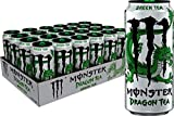 Monster Energy Dragon Tea, Green Tea, 15.5 Fl Oz (Pack of 24)