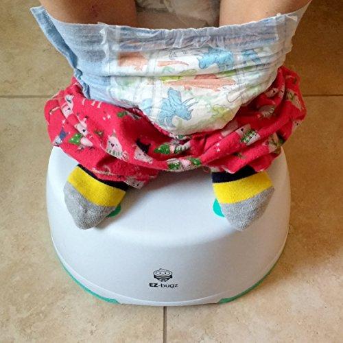 Taburete Infantil, Escalón para el Baño para Enseñar a Usar el WC a Niños Pequeños y Bebés y Quitarles el Pañal, Banquillo Antideslizante, Ligero y Estable