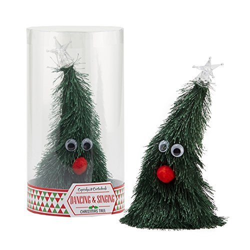 Two's Company Jingle Bells Singing and Dancing Christmas Tree by Cupcakes & Cartwheels