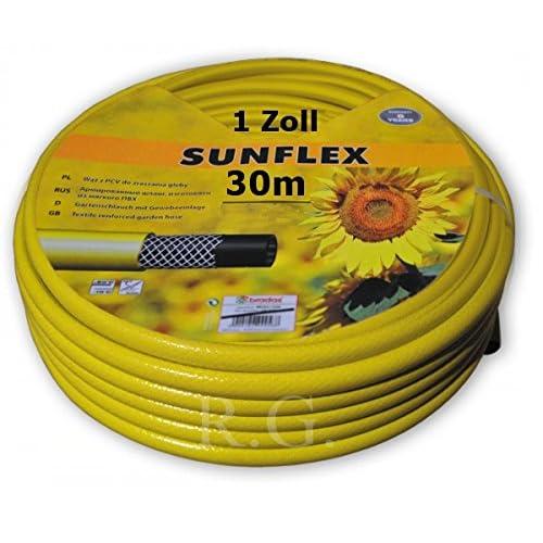 Schlauch 3-Lagiger stabiler Gartenschlauch 25 Meter Wasserschlauch 1//2 Zoll