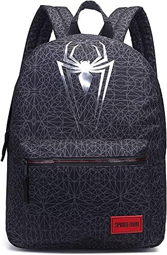 Spiderman Sac à Dos pour Hommes et Garçons, Sac à Dos de Voyage, Sac D école, Sac à Dos Multifonctionnel, Cadeau Spiderman