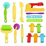 Kare & Kind Set of 12pcs Smart Dough Tools Kit Extruder Machine/Extruder Tools/Dough Tools