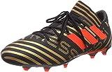 Adidas Nemeziz Messi 17.3 FG, Botas de fútbol Hombre, Negro (Negbas/Rojsol/Ormetr 000), 44 EU