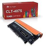 Toner Kingdom Compatible Cartucho de tóner para Samsung CLT-407S CLT-4072S CLP-320 CLP-320N CLP-320W CLP-320N CLP-325 CLP-325N CLP-325W CLX-3180 CLX-3180FN CLX-3180FW CLX-3185 CLX-3185FN (1 Paquete)
