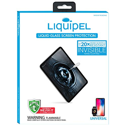Liquipel Liquid Screen Protector for Tablets and Smartphones Liquid Glass...