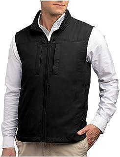 SCOTTeVEST Featherweight Men - Lightweight Vest - Travel - Utility - Safari Vest