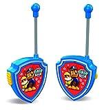 Paw Patrol-Set de 2 walkies talkies para niños(Cefa Toys 00434)