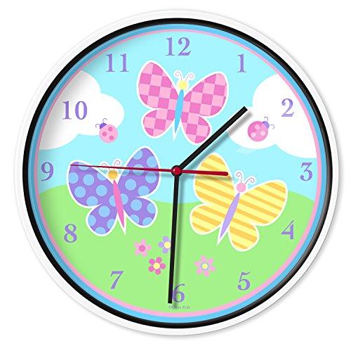 relojes de pared para niños de la marca Wildkin
