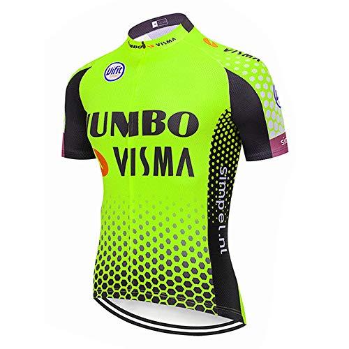 STEPANZU Ropa Ciclismo Verano Hombre Maillot MTB Verano para Bicicleta Montaña Ropa...