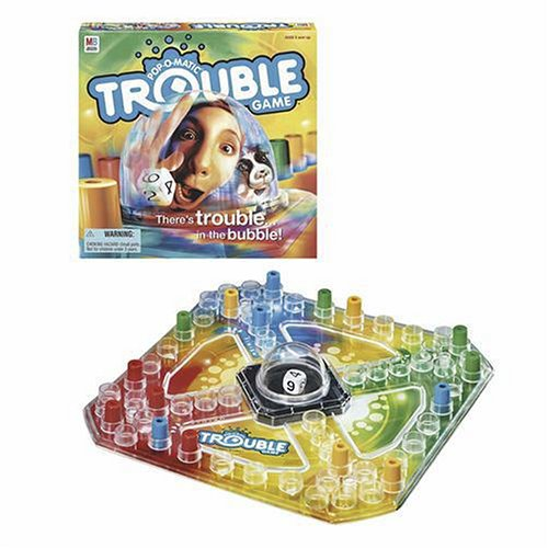 Pop o matic trouble game hasbro original