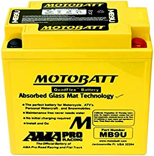 NEW Motobatt Battery For Vespa Cosa LX125 LX150 LX50 PK100 PK125 PK50 Scooters