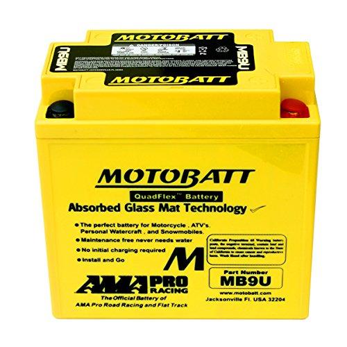 NEW AGM Battery Replacement For Triumph T120 T140 Bonneville Tiger T150 Trident -  DISCOUNT STARTER & ALTERNATOR, MB9U_DSA-AN-4