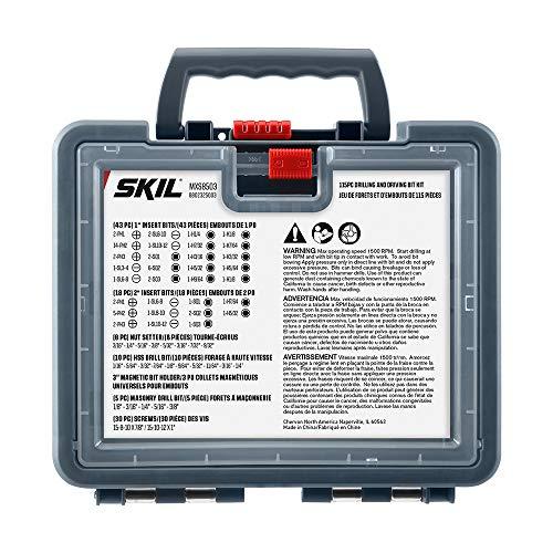 SKIL 115 Piece Drilling and Screwdriving Bit Set - MXS8503