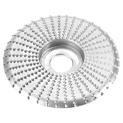KunmniZ Round Faceted Edge-arc Grinding Disc Grinding Wheel Sanding Power Wood ving,S