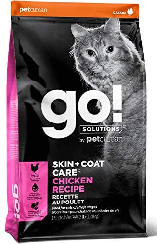 Petcurean Go! Skin & Coat Care Chicken Recipe for Cats 3 lb