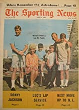 The Sporting News April 6 1968 - Mickey Mantle & Family/Orlando Cepeda/Al Kaline (Baseball Magazine/Publication) Dean's Cards 7 - NM