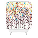 Deny Designs Khristian a Howell Greenwich Gardens 3 Duschvorhang, Candy Kronleuchter, 69 by 72-inch