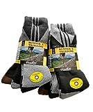 Pack 6 Pares - Calcetines de Trekking y Senderismo