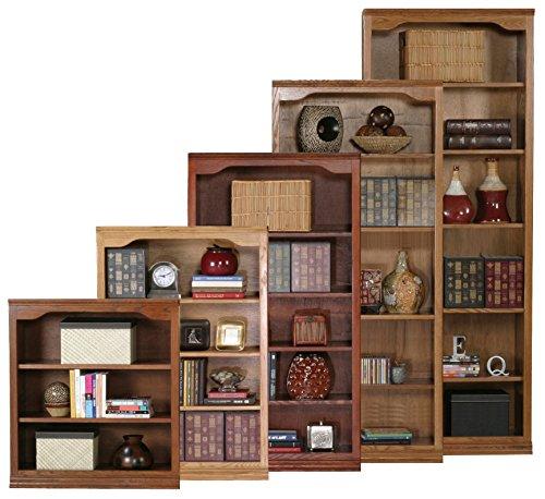 "cheap Eagle Classic Oak Open Bookshelf, 84 "", Concord Cherry Finish"