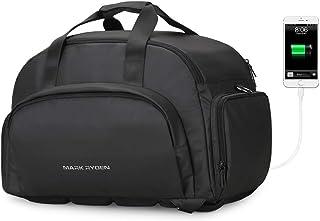 MARK RYDEN Men Travel Bag Large Capacity Waterproof Bags for Men Business Multifunctional USB Refill Luggage Bag