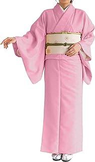 KYOETSU Women's Japanese Hitoe Kimono Solid Color Background Pattern (مقاس Medium، 5)