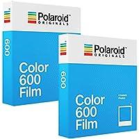 Polaroid Color 600 - PHOTO PORST Película fotográfica instantánea (2 x 8 Hojas)