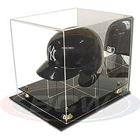 BCW アクリルミニ野球ヘルメットディスプレイ ミラー付き 1-AD26