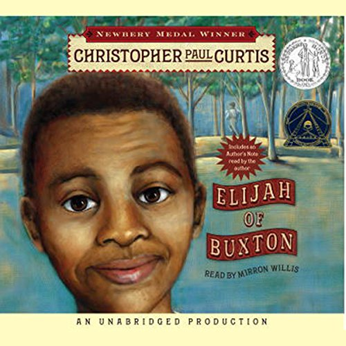 Elijah of Buxton audiobook cover art