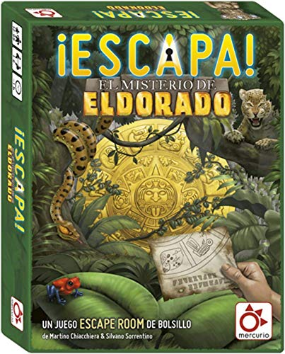 Mercurio Escapa: El Misterio de El Dorado - Juego Tipo Scape Room [Castellano]