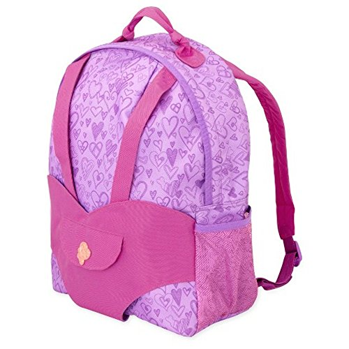 B. toys by Battat Our Generation Hop On Carrier knapsack - Purple Heats
