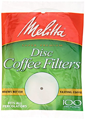 Melitta 628354 Disc Coffeemaker Filters