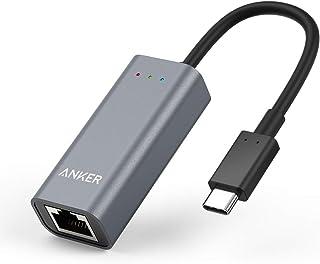 Anker USB-C to イーサネットアダプタ USB Type-C機器対応 MacBook/MacBook Air (2018) iPad Pro ChromeBook Pixel 他対応 (グレー)