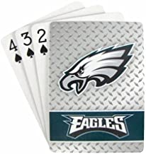 Pro Specialties Group NFL Diamond Plate Playing Cards, 2-Pack