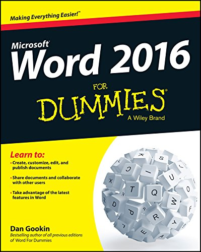 Word 2016 For Dummies (English Edition)