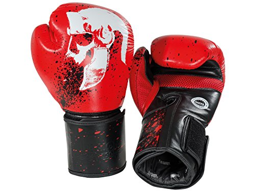 Legion Octagon Boxhandschuhe Farbe: Rot, Onze: 14 Oz