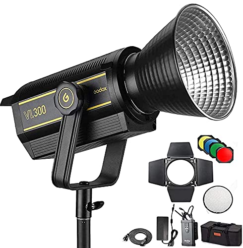 Godox VL300 300w LED Luz...