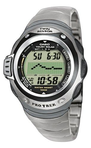 CASIO Sport-Pro Trek PRG-100T-7VER - Orologio digitale al quarzo, unisex, colore: argento