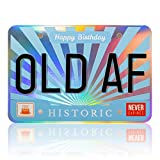 Funny Old Man Joke Happy Birthday Greeting Card – Great Happy Bday Gift for Dad, Brother, Husband, Son, Boyfriend | 30th 40th 50th 60th 70th - Comes w/ envelope and seal [BIG 9 inch X 6 inch size]