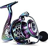 Carretes de Pesca ZWRY Carretes de Pesca giratorios 13 + 1 rodamientos de Bolas Relación de Engranaje de Carrete de Metal 5.2: 1 Aparejos de Pesca de Carpa Spinning para Pesca