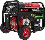 Best Diesel Generators - A-iPower SUA12000ED 12,000 Watt Dual Fuel Portable Generator Review