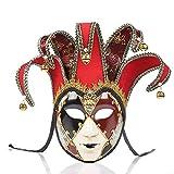 BLEVET Veneciano Máscara para Mujer Party Ball Carnaval Mascarada Bola de fantasía Máscara MZ117...