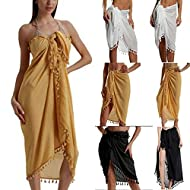 Material:Polyester.Pattern Type:Solid.Style:Elegant fashion.Age:Ages 18-35 Years Old.Fit:Fits true to size, take your normal size. Occasion:It is suitable for summer beach,poolside party,sunbathing,indoor pool,seaside,summer holidays and so on. Diffe...