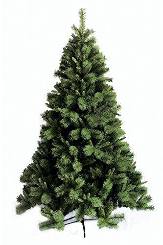 Galileo Casa Albero di Natale verde chiaro, altezza 225 cm, plastica e metallo
