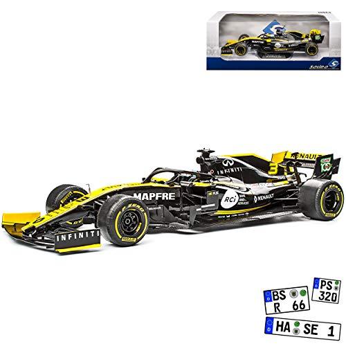 alles-meine.de GmbH Renautl R.S.19 Daniel Ricciardo 2019 Formel 1 1/18 Solido Modell Auto