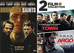 Irish/ Boston Underworld Antihero Pack: The Boondock Saints & Argo/ The Town 3-DVD Bundle