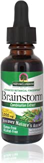 Nature's Answer Brainstorm 1 Fluid Ounce | Cognitive Support | Promotes Mental Clarity | Focus Supplement