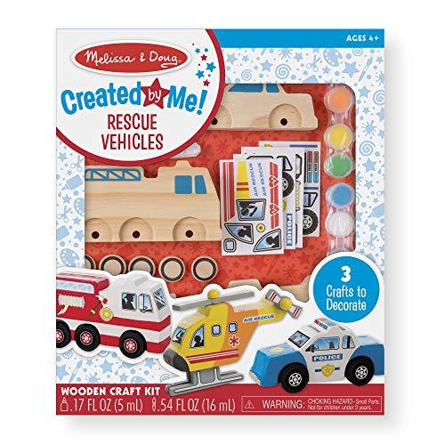 Melissa & Doug Rescue Vehicles Set