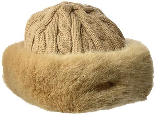BARTS Fur Cable Bandhat Gorro de Invierno, Marron Claro, Uni Unisex Adulto