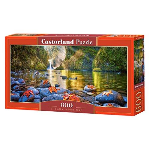 Castorland Steamy Mornings 600 pcs Puzzle - Rompecabezas (Puzzle rompecabezas, Paisaje, Niños y adultos, Niño/niña, 9 año(s), Interior) , color/modelo surtido