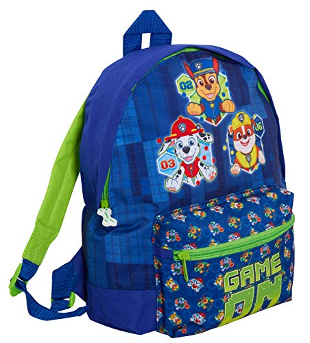Kids Paw Patrol Backpack with Pocket Chase Marshall Rubble School Nursery Lunch Book Bag Rucksack